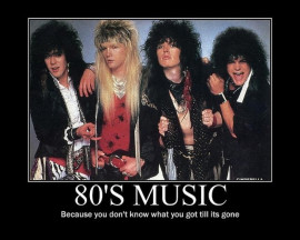 hair bands 80s