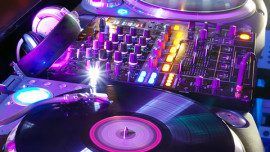 house music turntables