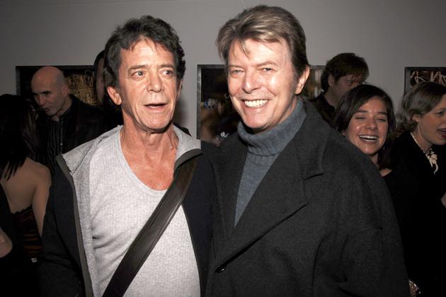 Lou Reed David Bowie